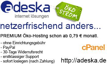 adeska internet lösungen //Premium Webhosting